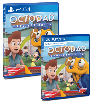 Octodad Physical Box Mock Up